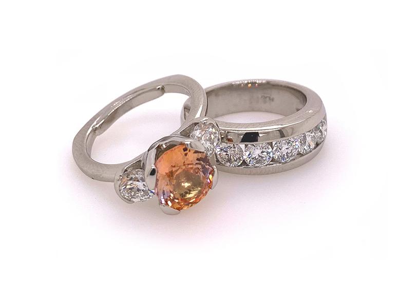 Custom Jewelry Seattle l Engagement & Wedding Rings l K