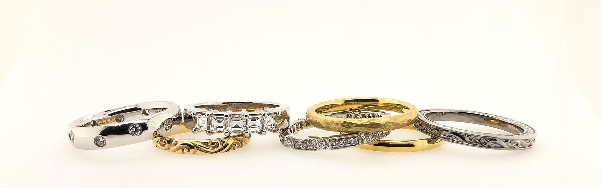 K  Alan Smith Jeweler Seattle l Engagement & Wedding Rings