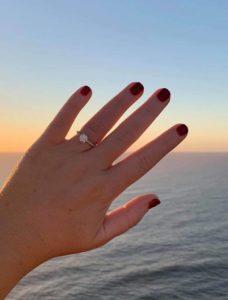 Custom Engagement Ring Kimberly