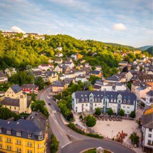The town of Idar Oberstein