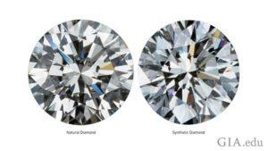Natural Diamond and Lab-Grown Diamond