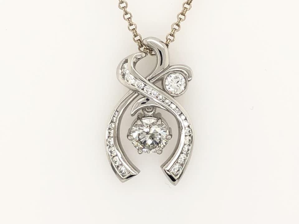 Custom Design Diamond Pendant