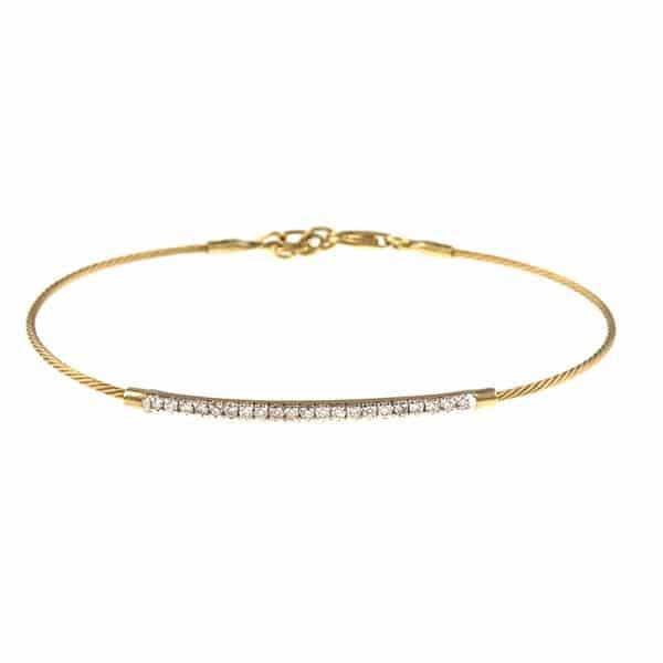 Diamond Cable Bracelet