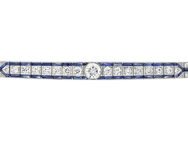 Art Deco Bracelet top view