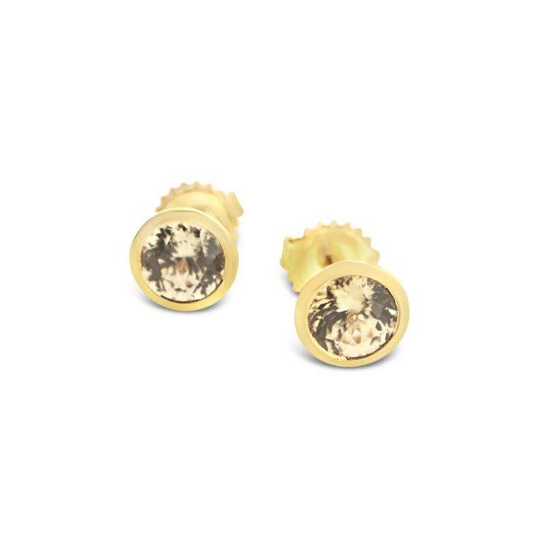 Blush Topaz Earrings