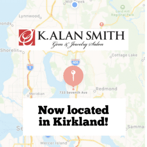 K. Alan Smith, Jeweler now in Kirkland, WA.