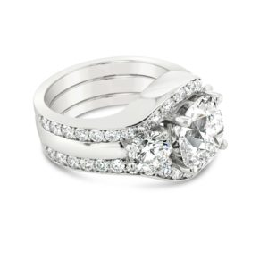 Eupopean Cut Engagement Ring