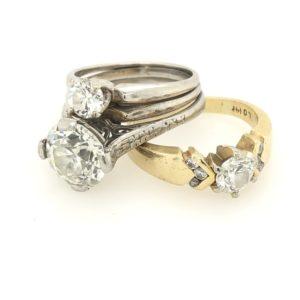 Custom Wedding Ring Redesign
