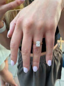Radiant Cut Diamond K. Alan Smith Jeweler