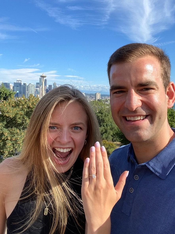 Seattle Proposal K. Alan Smith Jeweler
