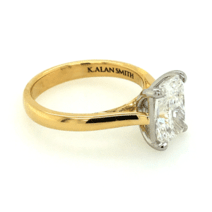 Radiant Cut Diamond Solitaire